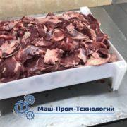 Ящик для мяса пластиковый штабелируемый (короб)