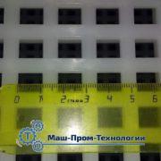 Размеры решетки основания ящика