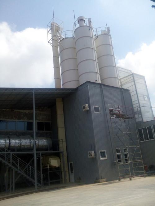 Мини-завод сухих смесей с линией сушки песка