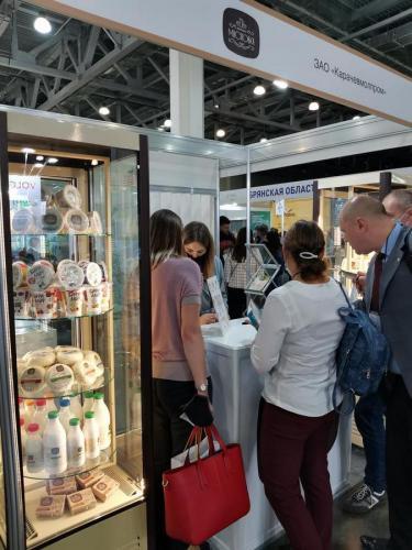Выставка пищевых продуктов в Крокус-Экспо в Москве